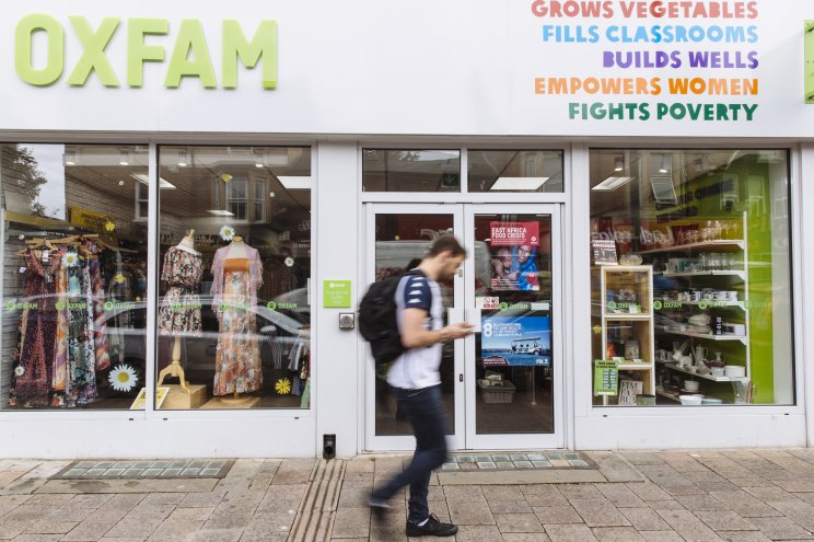 f50afe26e9d Oxfam s total sales over the eight week Christmas period exceeded £18  million. That represents an increase of one per cent on the same period in  2017 and an ...