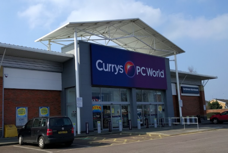 Profits halve at Dixons Carphone Currys PC World stores in Gloucester Cheltenham