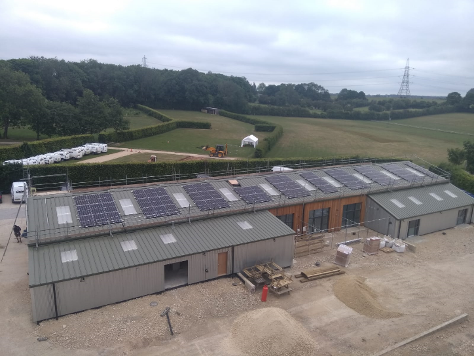 Far Peak, Gloucestershire; Far Peak's commercial tenants benefit from having a supply of clean, and (visibly) locally sourced energy to power their businesses