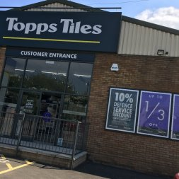 Topps Tiles predicts slowdown after sales surge Image