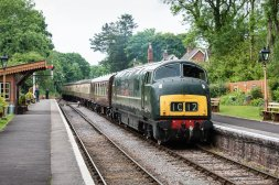 Diesel power will reign supreme on the GWSR Image