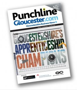 The December edition of Punchline Magazine Image