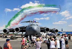 Air Tattoo goes halves with neighbours Image
