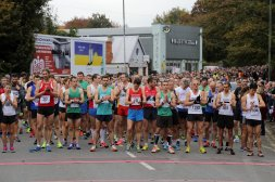 Runners limbering up for 38th Stroud Half Marathon Image