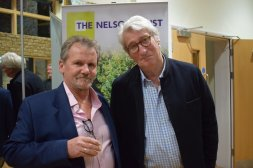 Tables are turned on inquisitor Jeremy Paxman at event to raise funds for Gloucestershire charity Image