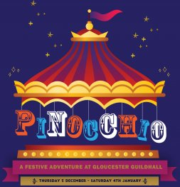 Join Pinocchio's magical adventure at Gloucester Guildhall Image