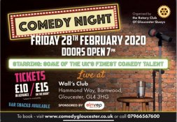Belly laughs aplenty at charity comedy night Image