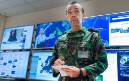 VIDEO: Gloucestershire Ministry of Defence staff are part of the COVID Support Force  Image