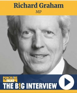 VIDEO Punchline Talks: Richard Graham MP Image