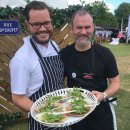 Cotswold catering co join forces with Michelin starred chef to serve up over 1,000 dishes Image