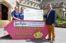 Hospice tickled pink by Speedy Skips fundraising initiative Image