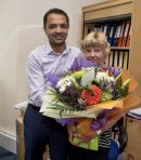 Dedicated Sandra celebrates 40 years at Gloucestershire house builder Image