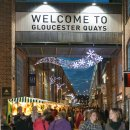 Record-breaking figures for Gloucester Quays' Christmas market Image