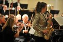 Award-winning saxophonist Lydia opens new season Image