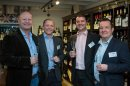 Businesses build contacts at corker of a networking event Image