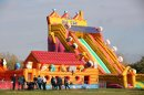 Giant inflatable theme park returns to Over Farm Image