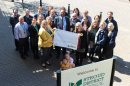 Council staff raise thousands for suicide charity Image