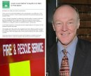 Fire Service saga: Forget about an 'air war', it's e-mail madness between Martin Surl and Council Image