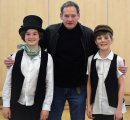 Special guest drops in to wish 'Oliver!' cast well Image