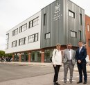 Gloucester companies' work celebrated as Professor Robert Winston opens new school build Image