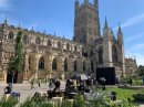 PICTURES: Doctor Who begins filming at Gloucester Cathedral Image