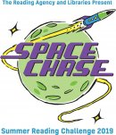 Blast off with Space Chase in a library near you! Image