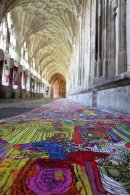 Art and Wellbeing: Creating community at Gloucester Cathedral Image