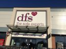 DFS sitting pretty on back of sofa sales Image