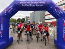 Cyclists ride for charity Image