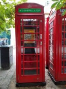 Funding from business makes Cheltenham town centre phone box a real life saver Image