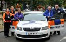 Guardians hit the road in new emergency vehicle thanks to Cheltenham BID Image