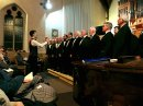 Two choirs raise voices in special charity evening Image