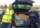 Supplies company gives thousands of presents to Cirencester-based homelessness charity Image