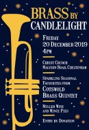 Enjoy the sound of brass in candlelit church Image