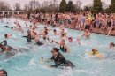 Brace yourself for a chilly Christmas Day swim Image
