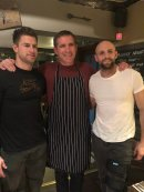 Phil Vickery serves up feast to lucky auction winners - with guest waiters from Gloucester Rugby Image