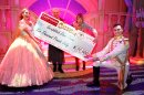 Panto raised record amount for charity - oh yes it did! Image