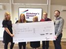 One of Gloucestershire's biggest employers raises £58k for charity Image