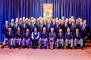 Male voice choir celebrates 50 years of singing and fund-raising Image