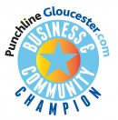 Help Punchline celebrate the Business Community Champions helping Gloucestershire Image