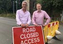 Work to reopen Old A40 starts despite crisis Image