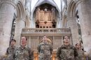 Cathedral welcomes US soldiers to mark Independence Day Image