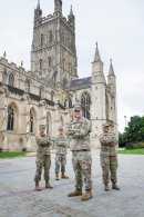 Gloucester Cathedral's liberty bells celebrate US friendship Image