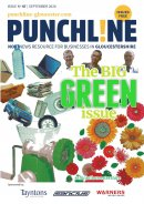 Punchline Magazine: The Big Green Issue - October 2020 Image