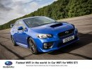 Fastest wifi in the world: in car wifi for Subaru WRX STI Image
