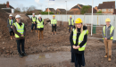Gloucester construction firm begins affordable housing project in Thatcham Image