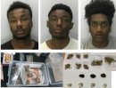 Three men sentenced in county line drugs operation Image